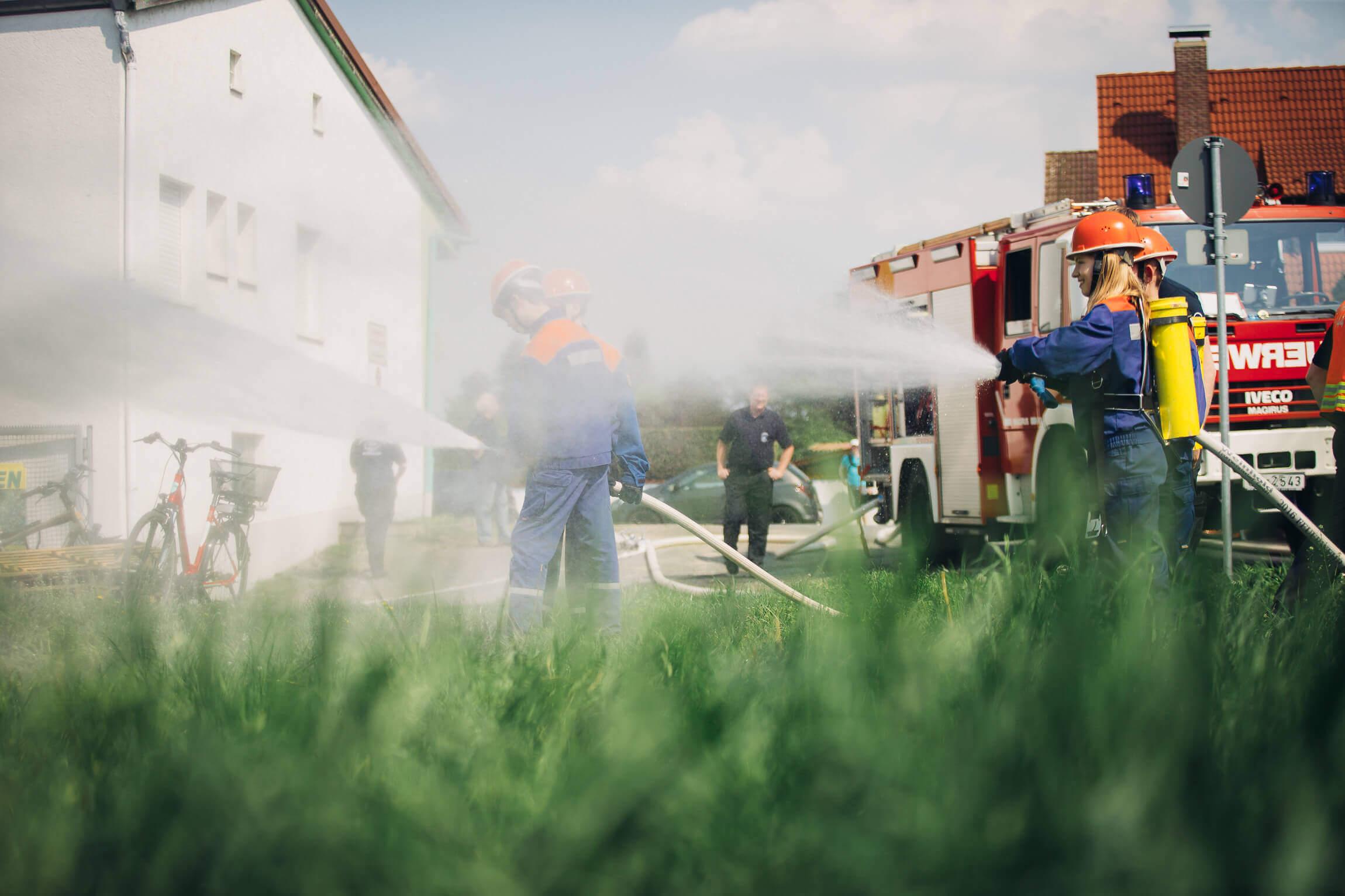 Jugendfeuerwehr Koenigstaedten Jahresanfangsuebung2018 2