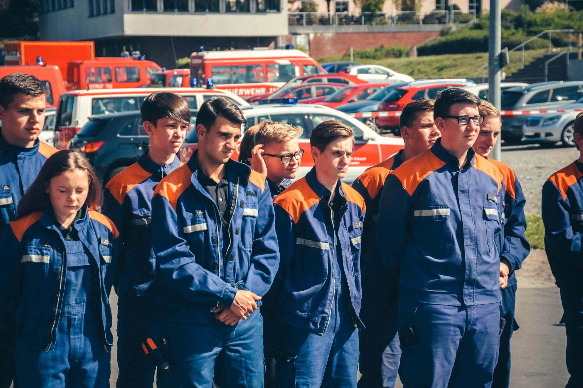 Jugendfeuerwehr Koenigstaedten Leistungsspange 7